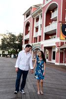 Disney Boardwalk Engagement Experience | Jessica and Nick