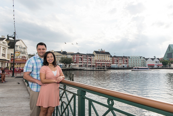 Disney-Boardwalk-Engagement-Session-Leonor-and-Paul 1011